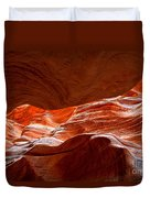 Vermilion Cliffs Abstract Duvet Cover