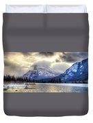 Vermillion Vista Duvet Cover