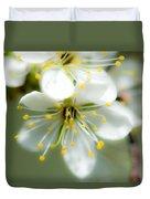 Vermont Apple Blossom Duvet Cover