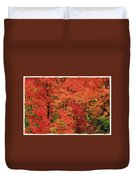 Vermont Autumn Duvet Cover