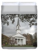 Vermont Church Duvet Cover