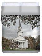 Vermont Church Duvet Cover