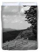 Vermont Countryside 2006 Bw Duvet Cover