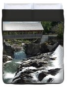 Vermont Covered Bridge Duvet Cover