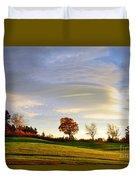 Vermont Hilltop Sunrise Duvet Cover