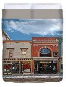 Vermont Street Scene Duvet Cover