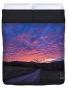 Vermont Sunset Duvet Cover