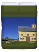 Vermont Yellow Barn 8x10 Ratio Duvet Cover