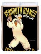 Vermouth Bianco Duvet Cover