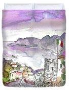 Vernazza In Italy 03 Duvet Cover