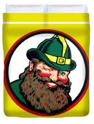 Vernors Ginger Ale - The Vernors Gnome Duvet Cover