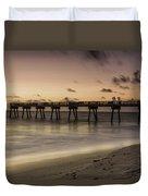 Vero Beach Sunrise Duvet Cover
