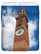Verona Italy - Beautiful Torre Dei Lamberti Duvet Cover