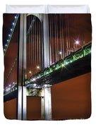 Verrazano Bridge Duvet Cover