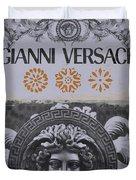 Versace Logo Duvet Cover