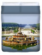 Versailles Garden Duvet Cover