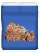 Vertical Forest Duvet Cover