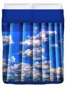 Vertical Sky Duvet Cover