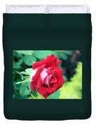 Very Dewy Rose Duvet Cover