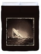 Very Large Array Sepia Duvet Cover