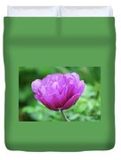 Very Pretty Lavender And Pink Tulip Blossom Flowering Duvet Cover