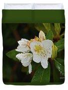 Very Wet Flower Duvet Cover