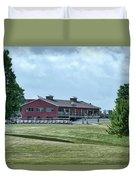 Vesper Hills Golf Club Tully New York 02 Duvet Cover