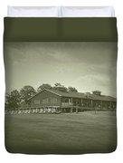 Vesper Hills Golf Club Tully New York Antique 01 Duvet Cover