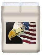 Veteran's Day Eagle Duvet Cover