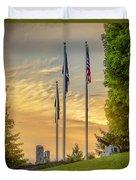 Veteran's Memorial Park Duvet Cover