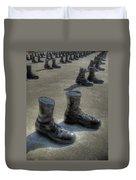 Veteran's Memorial Walk Duvet Cover