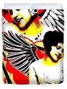 Vexed Angel Duvet Cover