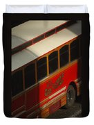 Via San Antonio Trolley Duvet Cover