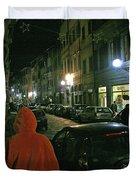 Via San Gallo Duvet Cover
