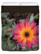 Vibrant African Daisy Duvet Cover