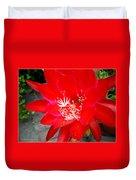 Vibrant Cacti Duvet Cover