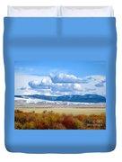 Vibrant Montana Duvet Cover