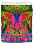 Vibrant Swirls Duvet Cover