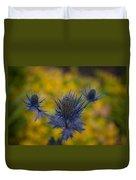 Vibrant Thistles Duvet Cover