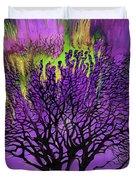 Vibrant Tree Duvet Cover