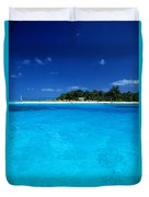 Vibrant Turquoise Waters Duvet Cover