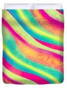 Vibrant Waves Duvet Cover