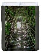 Vichy Springs In Ukiah, California Duvet Cover