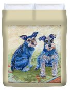Vickie's Pups Duvet Cover
