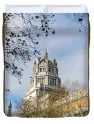 Victoria And Albert Museum London Duvet Cover
