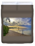 Victoria Beach Early Morning  Duvet Cover