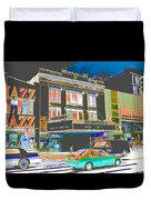 Victoria Theater 125th St Nyc Duvet Cover