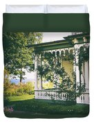 Victorian By The Sea Duvet Cover