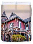 Gingerbread House Duvet Cover
