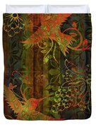 Victorian Humming Bird 3 Duvet Cover by JQ Licensing
